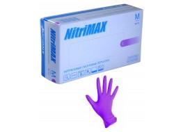 Перчатки нитриловые XS сиреневые Nitri Max