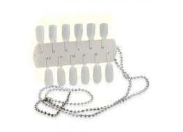 Палитра для образцов дизайна ногтей (матовая)