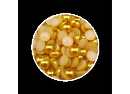 Жемчуг для дизайна золотой