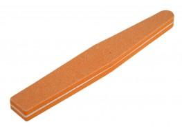 Полировщик для ногтей оранжевый ромб 120*180