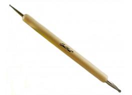 Дотц 2-сторонний с деревянной ручкой