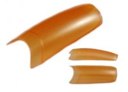 Типсы персиковые перламутровые
