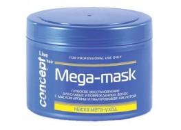 Маска Live Hair мега-уход для ослабленных и повреждённых волос