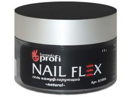 """Гель """"Nail Flex"""" камуфлирующий natural"""