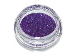Блёстки Б39 темно-фиолетовые голографические мелкие