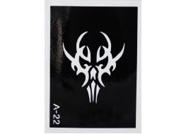 Трафарет для нанесения временной татуировки А22