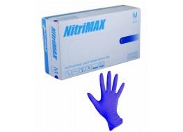 """Перчатки """"Nitri Max"""" нитриловые M фиолетовые"""