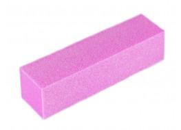Баф для полировки ногтей розовый 120 грит