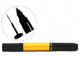 Акрил-краска в карандаше кисть+маркер золото