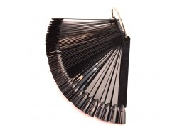 Палитра-ромашка на кольце чёрная