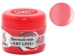 Гель 4D №6 цветное монпансье