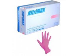 Перчатки Nitri Max нитриловые S розовые