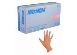 Перчатки Nitri Max нитриловые M оранжевые