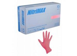 Перчатки  нитриловые L лиловые Nitri Max