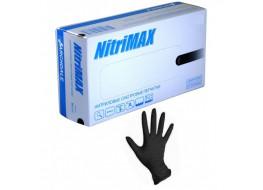 Перчатки Nitri Max нитриловые S черные