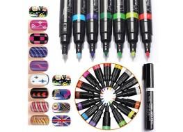 Маркер для дизайна ногтей №12 фиолетовый