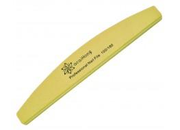 Полировщик для ногтей QcQIHONg желтый полукруг 100*180