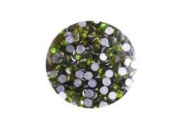 Стразы стекло SS2 Светло-зелёный