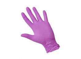 Перчатки нитриловые L 1 ПАРА лиловые Nitri Max